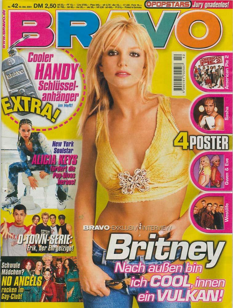 Revista Bravo Octubre 2001.